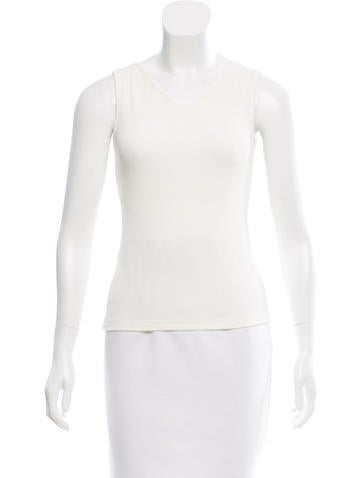 Philosophy di Alberta Ferretti V-Neck Sleeveless Top None