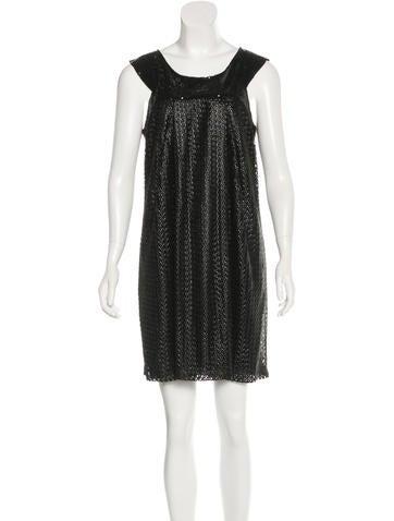 Philosophy di Alberta Ferretti Sequined Mini Dress None