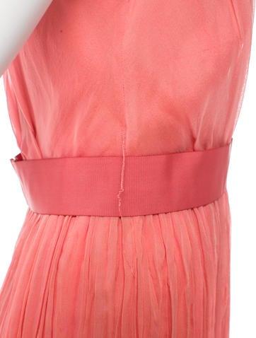 Silk Belted Dress