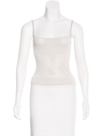 Philosophy di Alberta Ferretti Sleeveless Knit Top None
