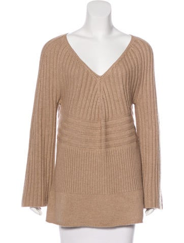 Philosophy di Alberta Ferretti Rib Knit Sweater None