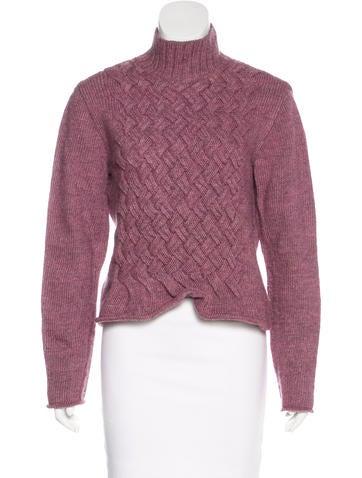 Philosophy di Alberta Ferretti Wool Turtleneck Sweater None