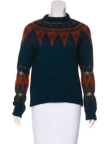 Philosophy di Alberta Ferretti Metallic Knit Sweater None