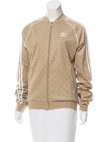 Pharrell Williams x Adidas Printed Athletic Jacket None