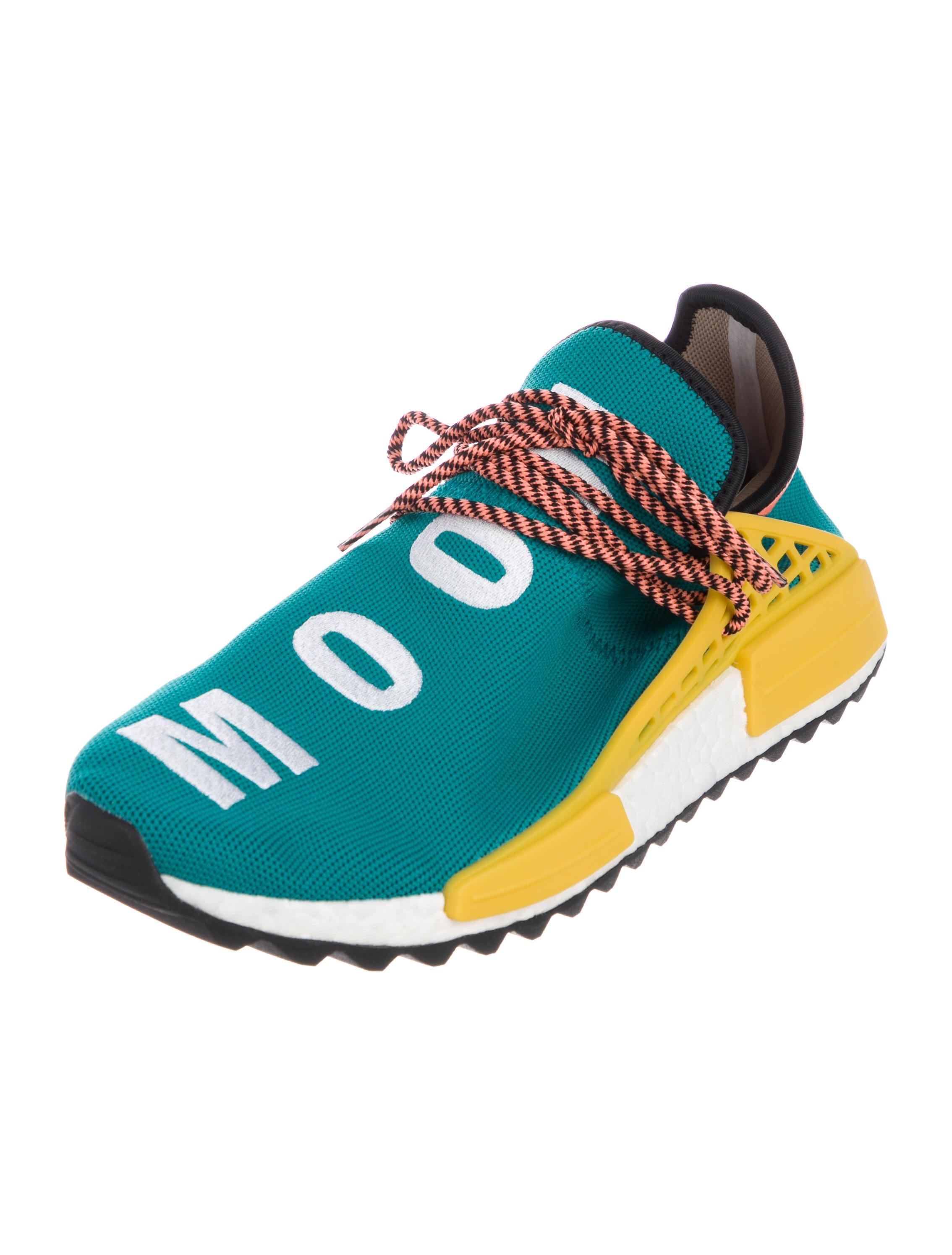 Pharrell Williams x Adidas 2017 Human Race NMD Sun Glow Sneakers w