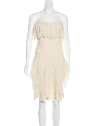 Philosophy di Lorenzo Serafini Fringe-Accented Alpaca-Blend Sweater w/ Tags None