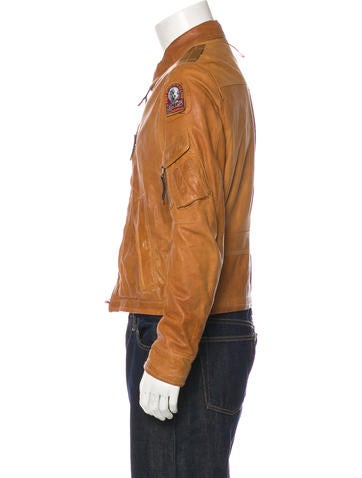 parajumpers distressed leather
