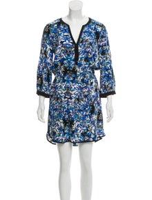 4d0f3f5dd5d Parker. Silk Printed Dress