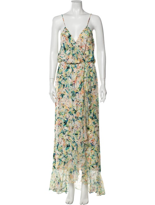 Parker Silk Long Dress