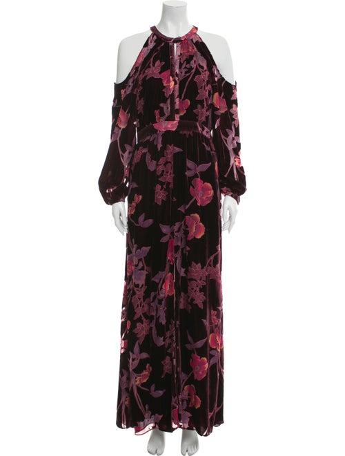 Parker Floral Print Long Dress