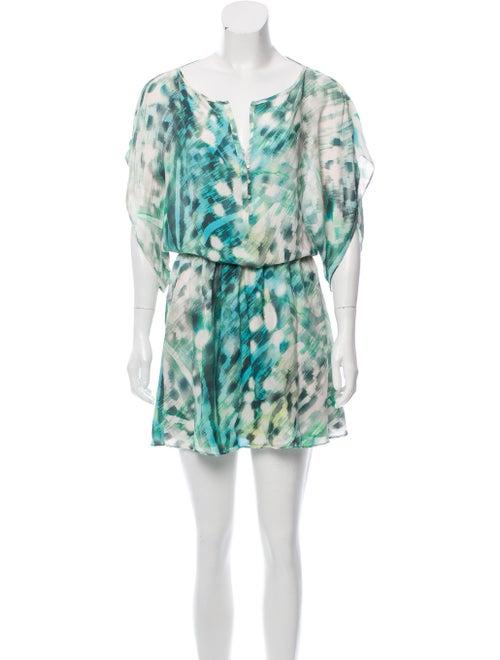Parker Tie-Dye Print Mini Dress