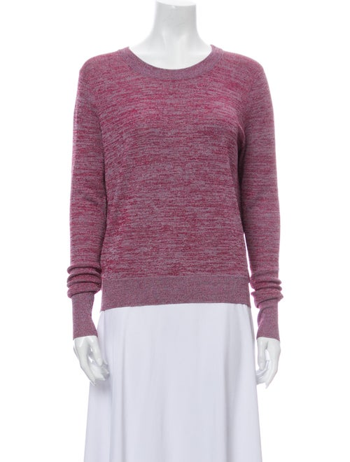 Parker Scoop Neck Sweater Metallic
