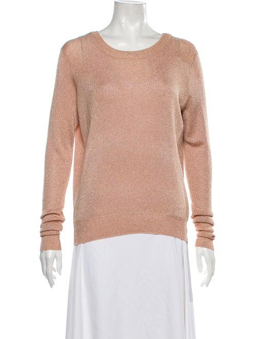 Parker Scoop Neck Sweater Brown
