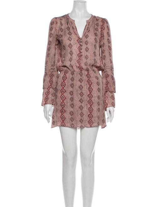 Parker Silk Mini Dress Pink