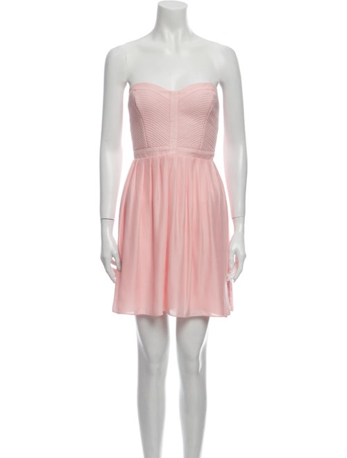 Parker Strapless Mini Dress Pink