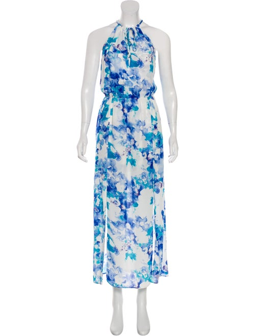 Parker Sleeveless Maxi Dress White