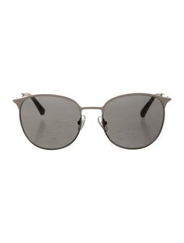 Oversize Circular Sunglasses