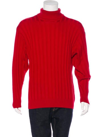 Paul & Shark Virgin Wool Turtleneck Sweater None