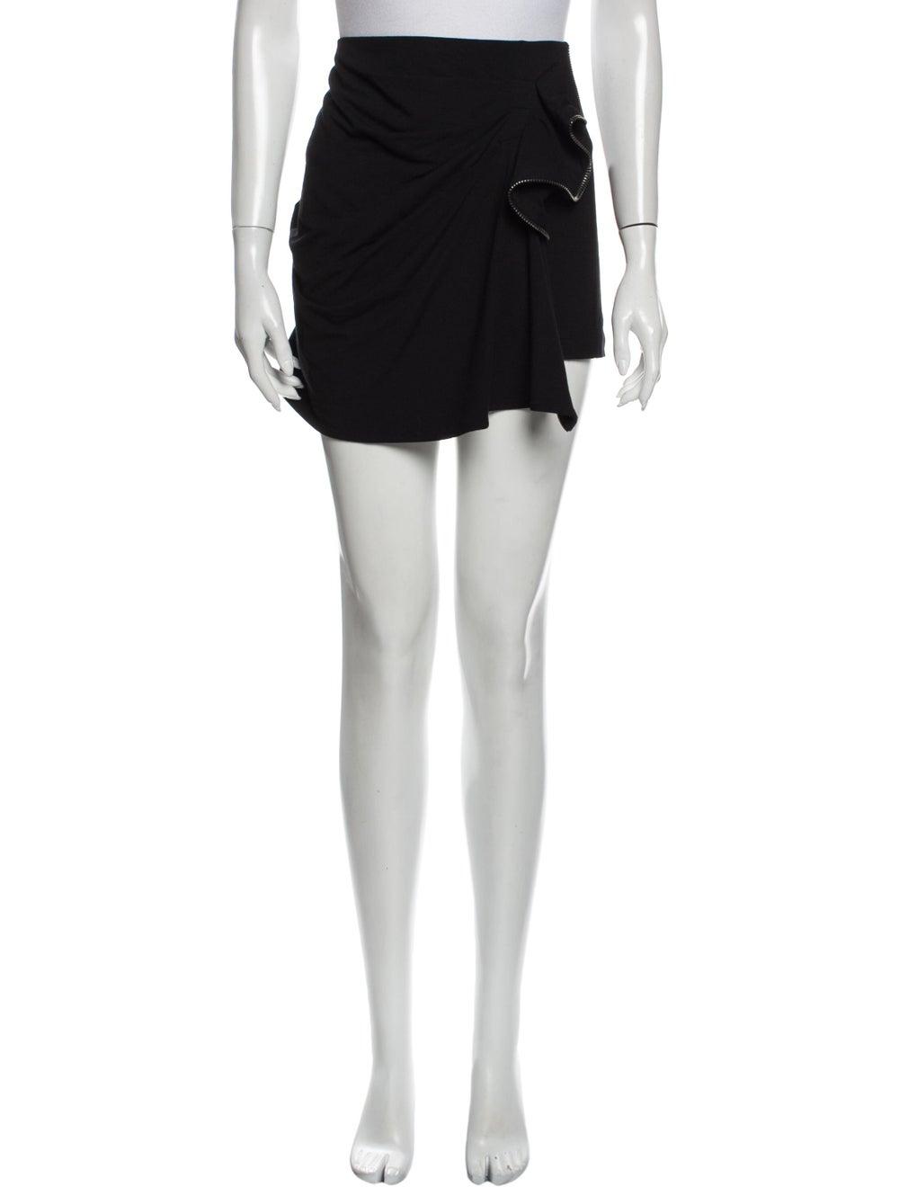 Plein Sud Jeanius Mini Skirt Black - image 1