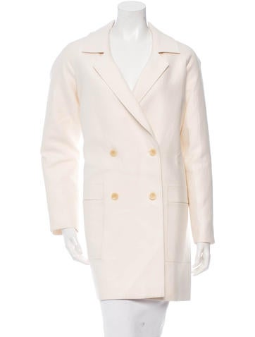 M.PATMOS Notched Lapel Double-Breasted Coat None