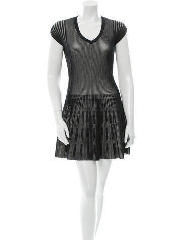 M.PATMOS Striped Knit Dress w/ Tags None