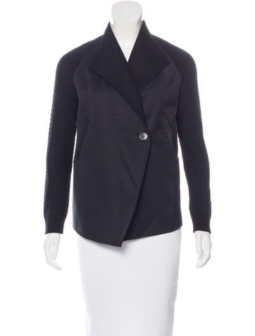 M.PATMOS Embroidered Wool Jacket None