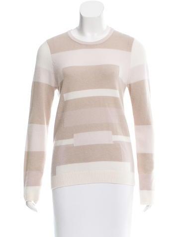 M.PATMOS Intarsia Cashmere Sweater None