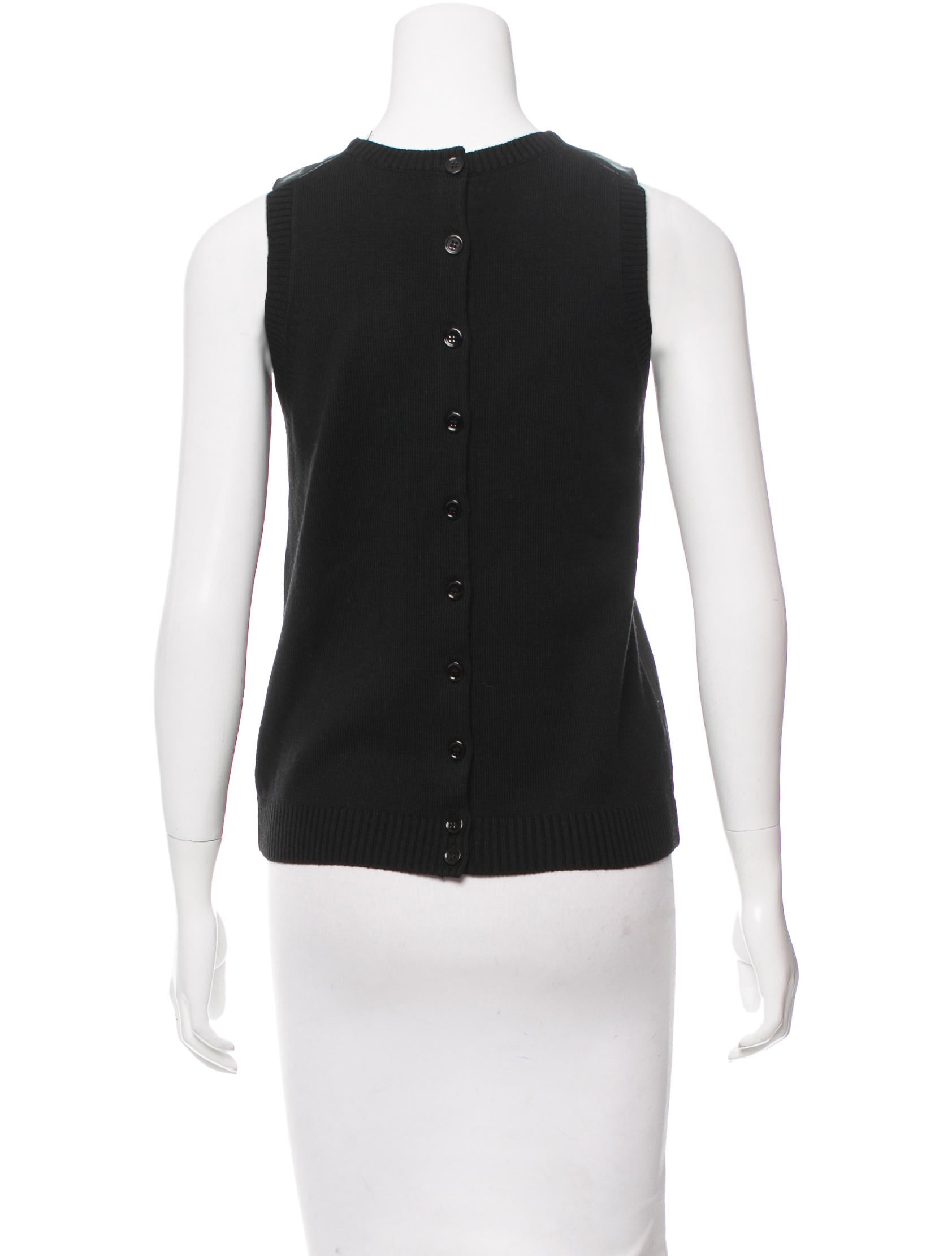 M patmos leather paneled merino wool top clothing for Best wool shirt jackets