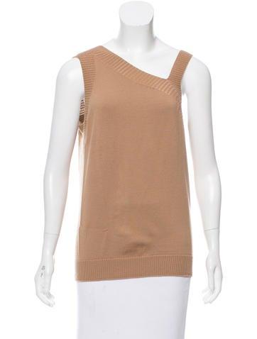 M.PATMOS Asymmetrical Wool Top w/ Tags None