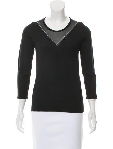 M.PATMOS Wool Crew Neck Top w/ Tags None