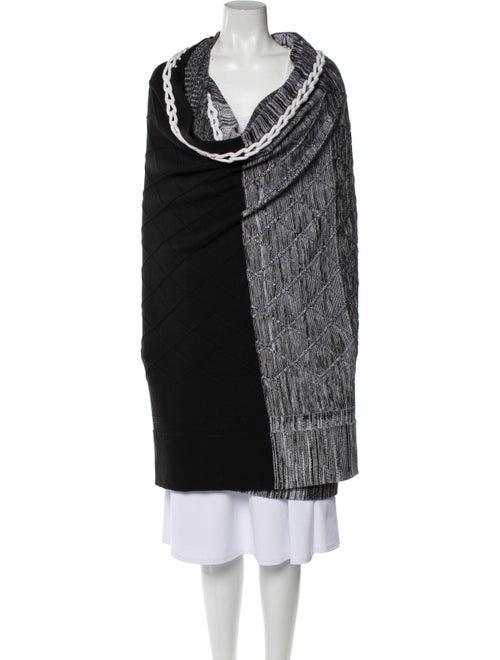 M.patmos Wool Colorblock Pattern Sweater Wool
