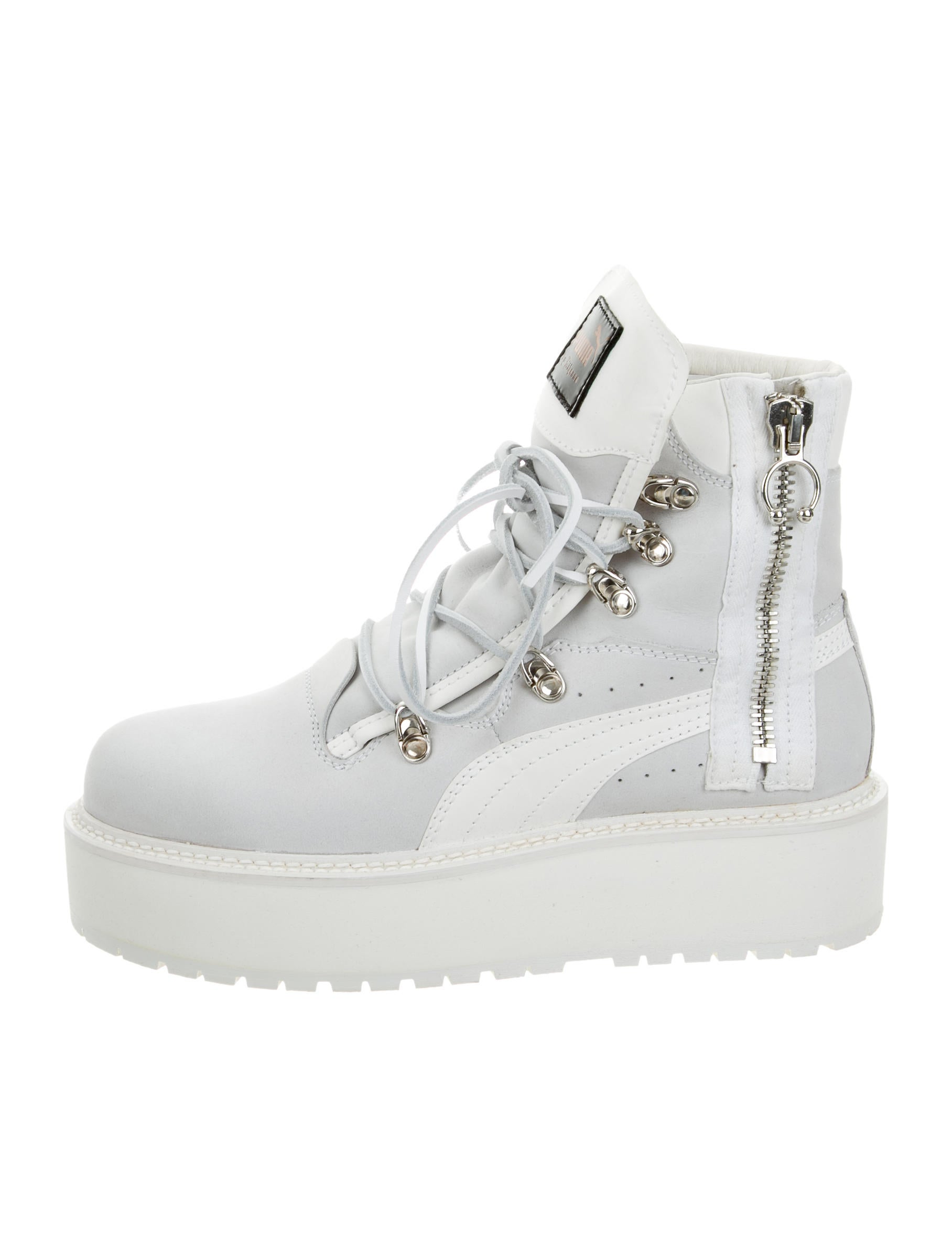 bde31e4995b6 Puma x Fenty SB White Rihanna Boots w  Tags - Shoes - WPMFY20050 ...