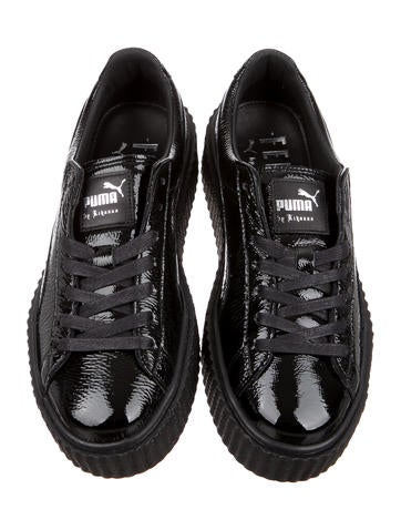 3f87f1818636 Puma x Fenty Wrinkled Patent Creeper Sneakers w  Tags - Shoes ...