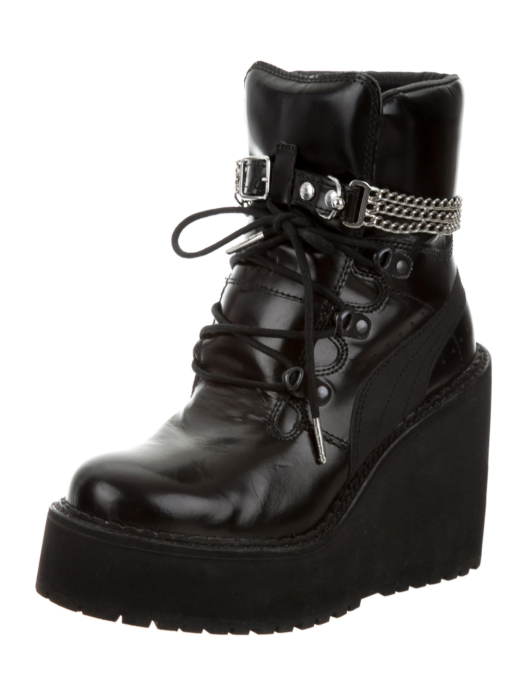 x fenty wedge ankle boots shoes wpmfy20078 the