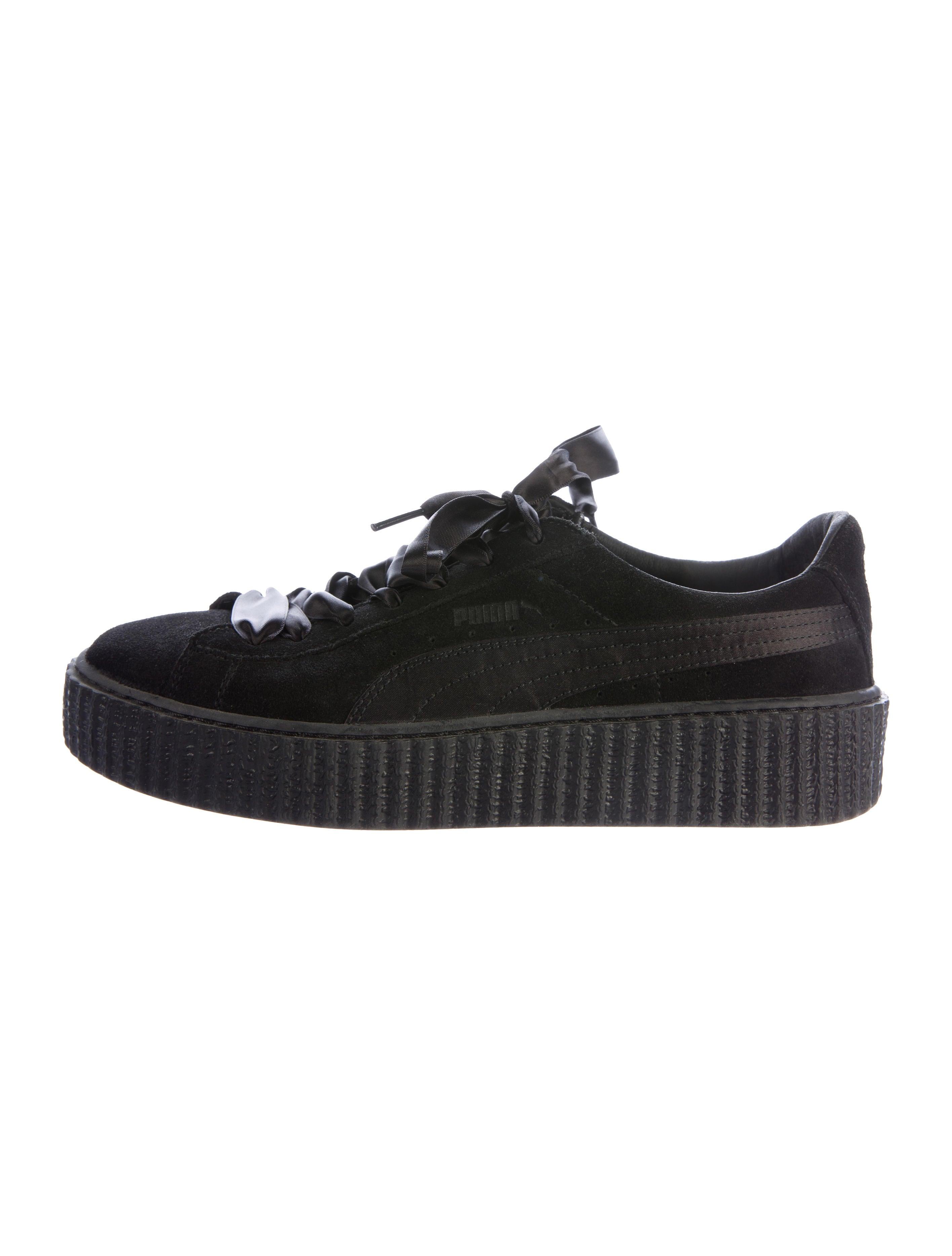puma x fenty suede platform creepers shoes wpmfy20184. Black Bedroom Furniture Sets. Home Design Ideas