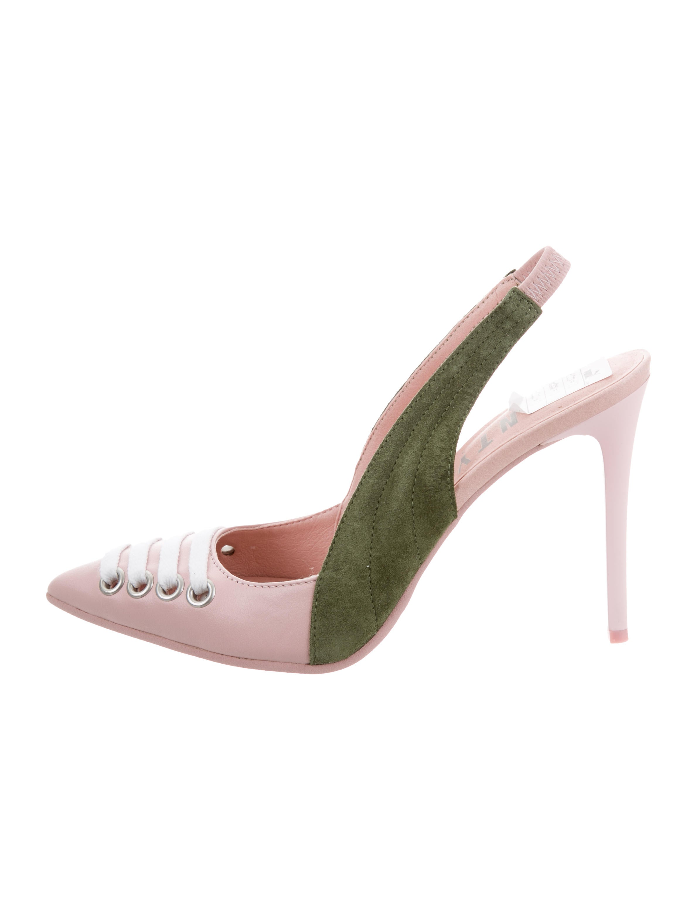 best prices cheap online Fenty x Puma Pointed-Toe Slingback Pumps w/ Tags cheap sale amazon classic cheap price professional cheap online discount for nice 5mj9svF