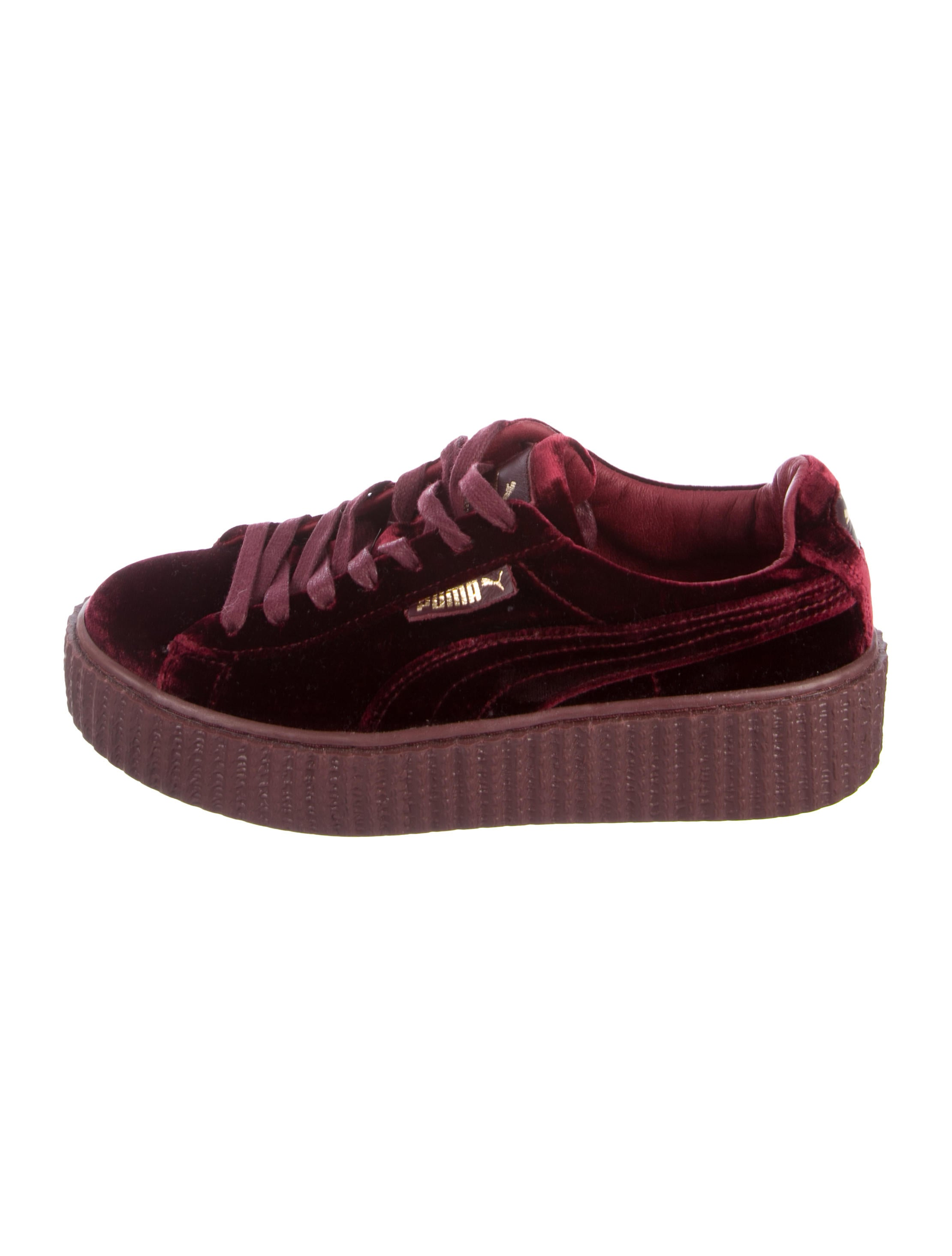 new product ff6c9 5d41d Fenty x Puma Velvet Creeper Sneakers - Shoes - WPMFY20697 ...