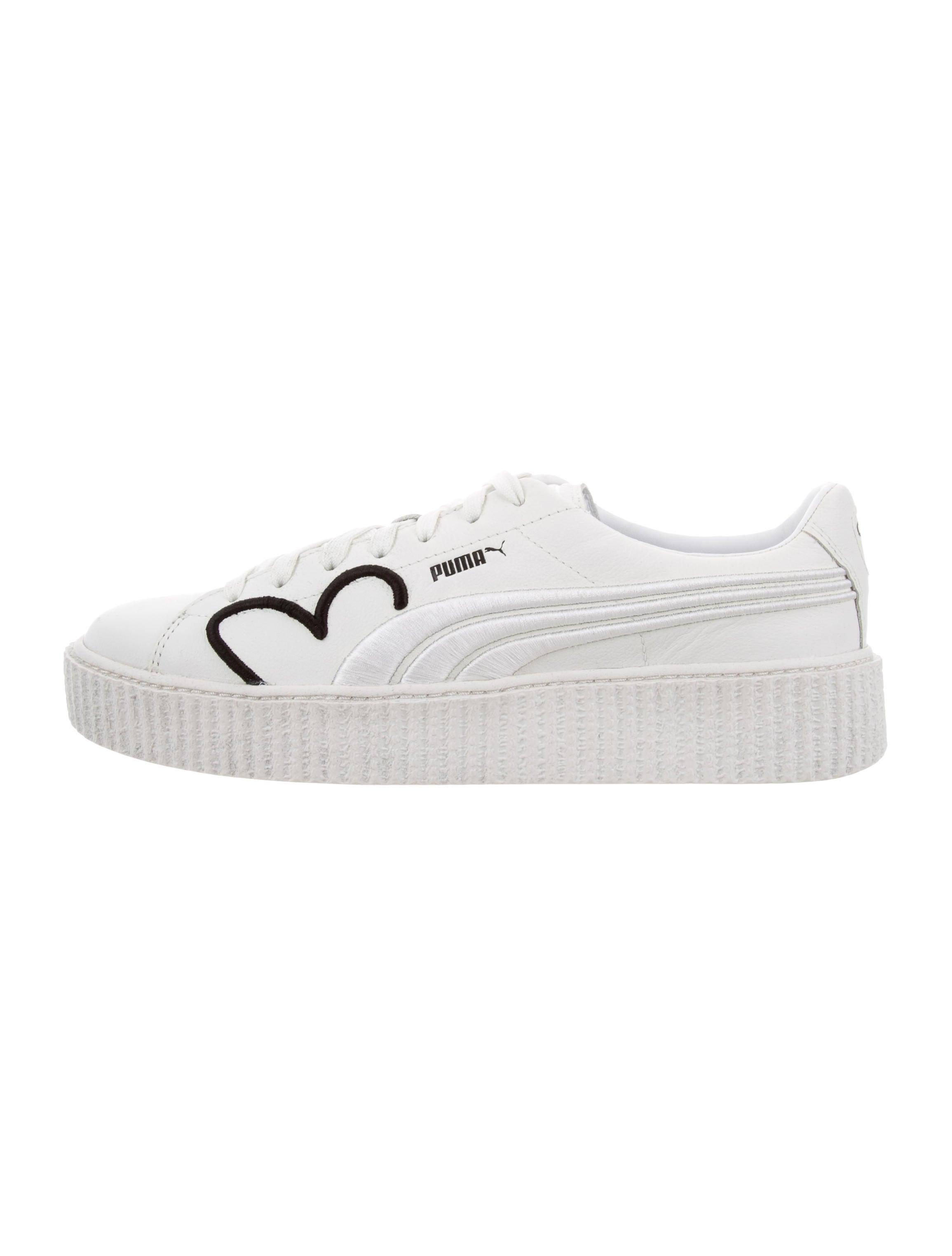eceee2ba822 Fenty x Puma Clara Lionel Creeper Sneakers - Shoes - WPMFY20783 ...