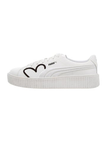 Fenty x Puma Basket Creepers Sneakers w  Tags - Shoes - WPMFY20742 ... 021908db6