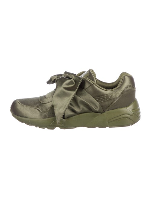 dd53546c2f6 Fenty x Puma Satin Bow Sneakers - Shoes - WPMFY21441