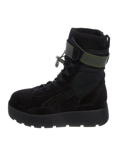 10bcc5b36282 Fenty x Puma Suede Mid-Calf Boots - Shoes - WPMFY21463