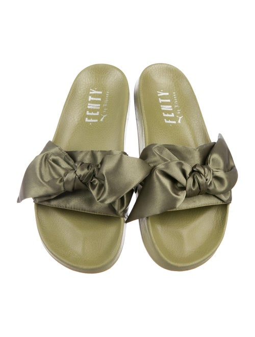 best loved a3d38 27cc8 Fenty x Puma Satin Slide Sandals - Shoes - WPMFY21968 | The ...