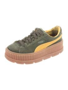 Fenty x Puma Suede Colorblock Pattern Sneakers