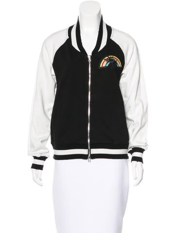 Pam & Gela Embroidered Track Jacket None