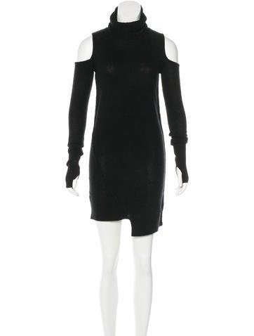 Pam & Gela Wool-Blend Sweater Dress None