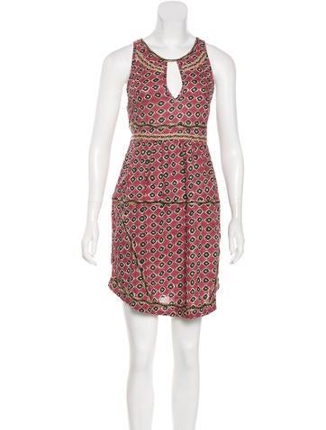 Pam & Gela Sleeveless Mini Dress None