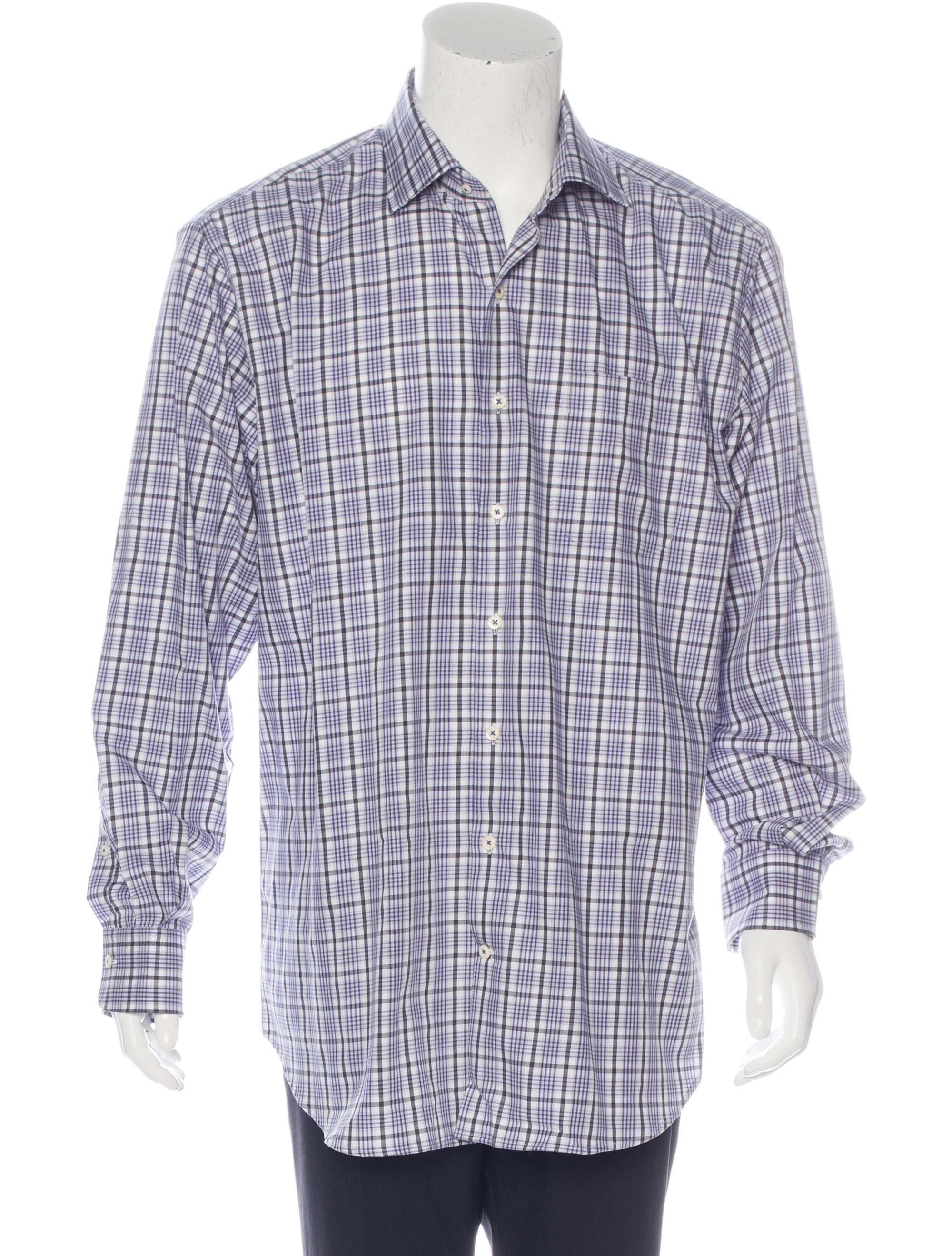 Peter Millar Plaid Long Sleeve Shirt W Tags Clothing