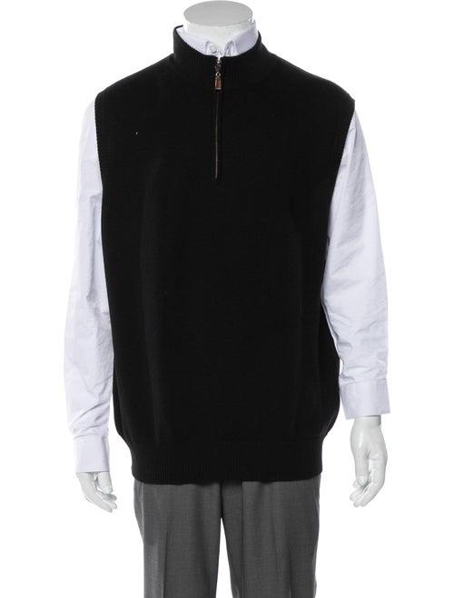 Peter Millar Wool Sweater Vest black - image 1