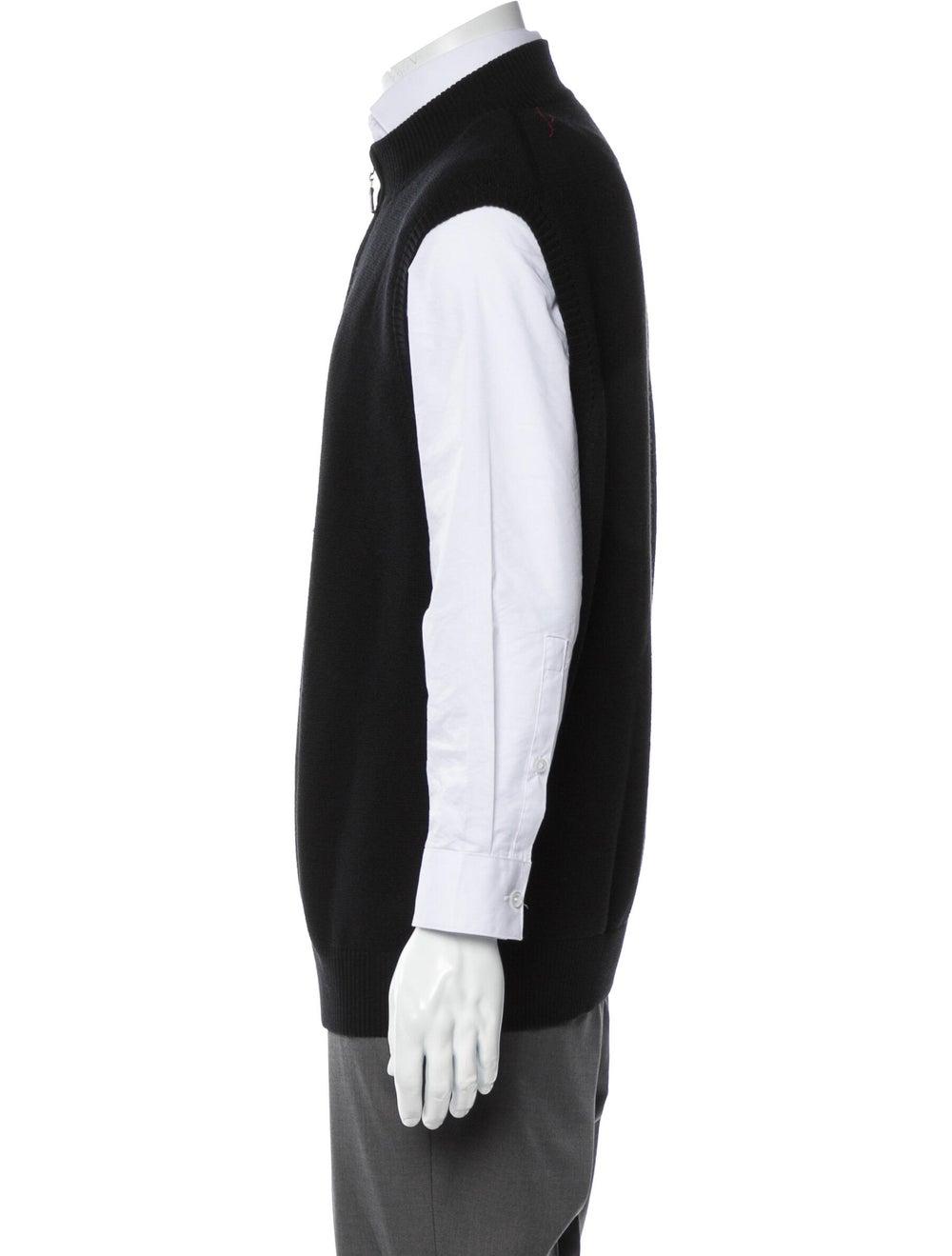 Peter Millar Wool Sweater Vest black - image 2