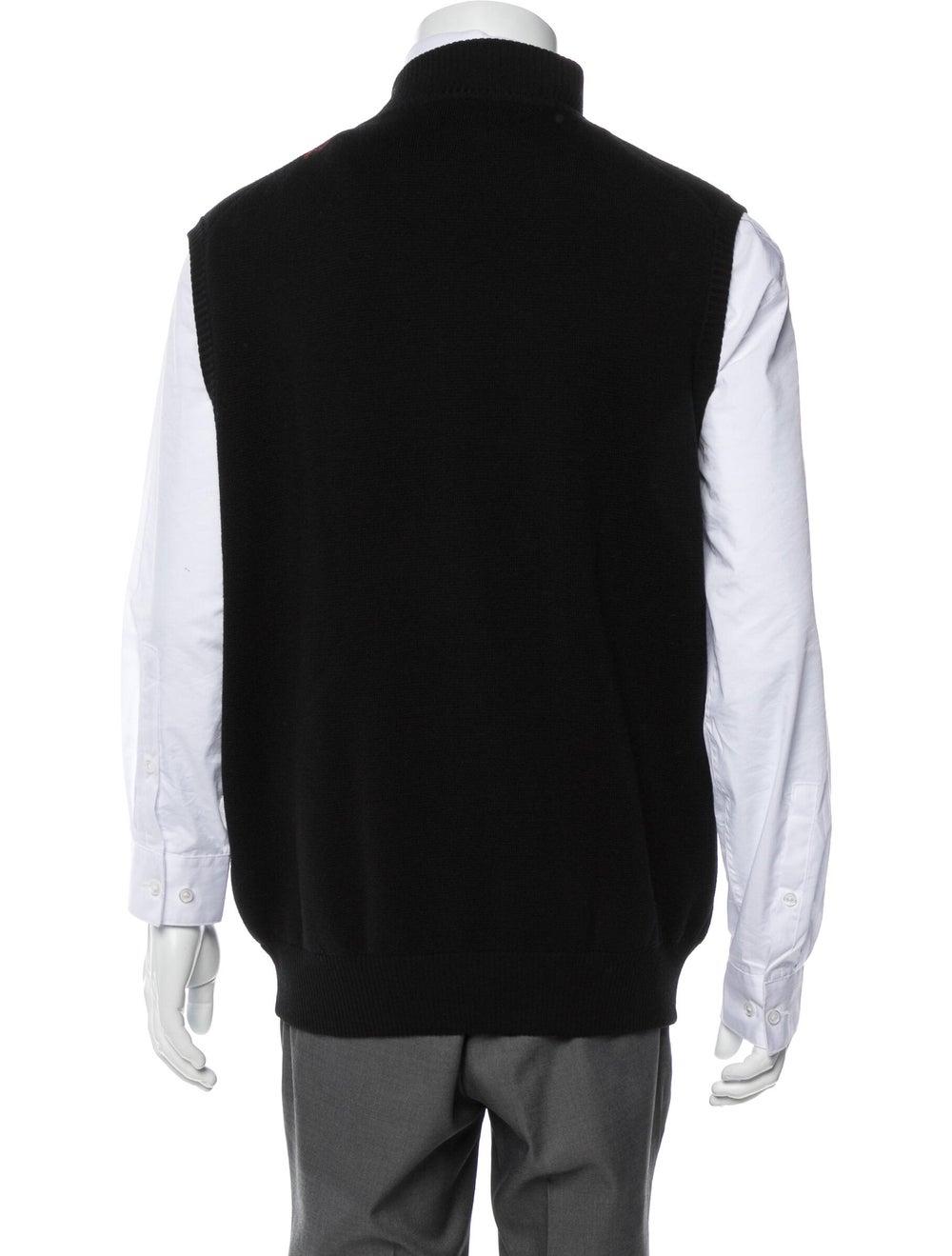 Peter Millar Wool Sweater Vest black - image 3